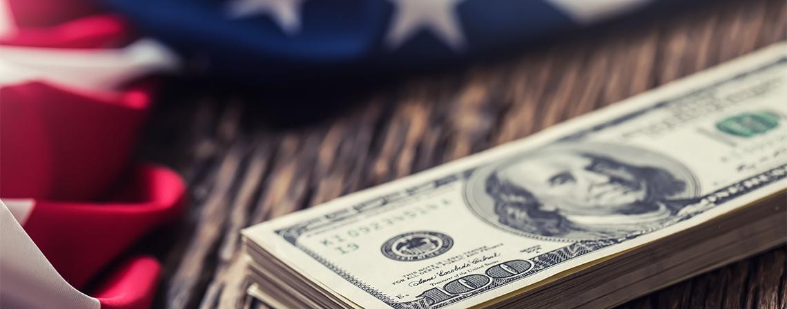 ITD - Money & USA Flag